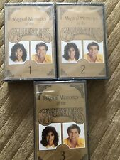 Magical Memories of The Carpenters Vol 1-3 compilation Cassette Tapes (1993) NEW