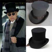 Retro Topper Party Perform Magic Derby Cap British Height Mad Hatter Fedora Hat