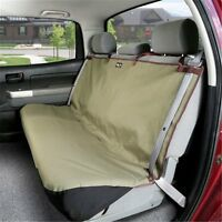 """Solvit Waterproof Sta-Put Bench Car Seat Cover for Dogs Pets 56"""" x 47"""""""