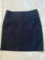 ANN TAYLOR LOFT Black Short Skirt with Pockets size XS