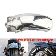 Chrome Rear Mudguard Fender For Harley Sportster Bobber Chopper Cafe Racer