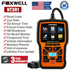 USA Ship OBD2 Fault Code Reader Scanner Engine Car Diagnostic Tool Foxwell NT301