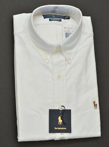 New Polo Ralph Lauren Men's Classic Fit Oxford Cotton Dress Shirt