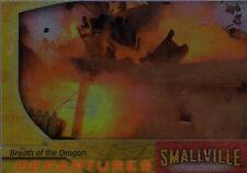 Smallville Season 3 Chase/Insert Card Departures Breath Dragon D4