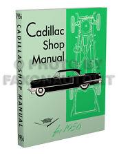 1956 Cadillac Shop Manual Deville Eldorado Series 62 60 Special Fleetwood Repair