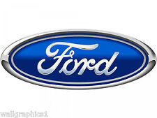 Ford Logo 2 Ft Long Removable Wall Graphic Sticker Vinyl Decal Man Cave Tools