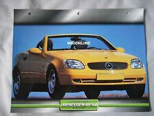 Mercedes SLK230 Dream Cars Card