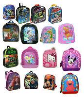 Licensed Disney Kids Girls Boys Toddler Preschool School Mini Backpack Bag NEW