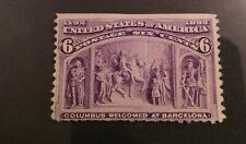 US 1893 Columbian Exposition 6c Mint $10 start!