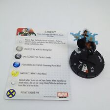 Heroclix Marvel 10th Anniversary set Storm #007 Common figure w/card!