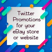 PROMOTE your store or website 22k people traffic ads promo marketing 25 tweets