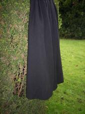 Calf Length Tall Patternless A-line Skirts for Women