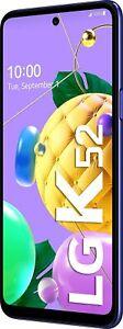 LG K52, blue Smartphone (16,76 cm/6,6 Zoll, 64 GB Speicherplatz, 48 MP Kamera)