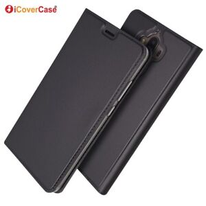 Magnetic PU Leather Flip Case Shockproof Card Cover for Huawei Mate 9
