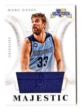 Marc Gasol NBA 2012-13 Panini cruzada Majestic materiales (Memphis pardos)