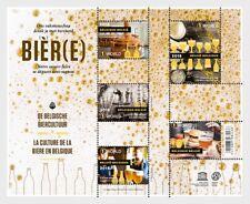 belgium 2018 belgique Beer Culture biere  Bierkultur Cerveza  Birra ms5v mnh **