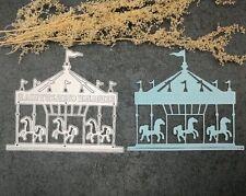 Carousel Metal DIY Cutting Die Stencil Scrapbook Album Paper Card Embossing Gift