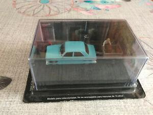 Voiture Miniature Peugeot 204 Etape 1 Remorque La Route Bleue RN7 1/43