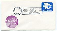 1970 Skylab Lake Matrine NY Space Unit Mailer's Postmark Permit SPACE NASA SAT