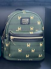 More details for disney marvel loki loungefly mini backpack exclusive aop brand new without tags