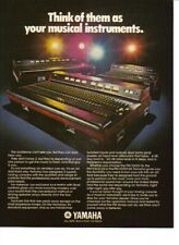 1976 Yamaha PM-1000-32 Mixing Console / Sound Mixer - Vintage Ad