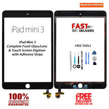 NEW iPad Mini 3 Complete Front Glass Digitiser Touch Screen w/Tools - BLACK
