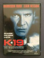 DVD K19 THE WIDOWMAKER K-19 Harrison Ford Liam Neeson KATHRYN BIGELOW