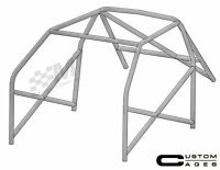 Custom Cages Honda Civic EP3 TYPE R 6 Point Weld In Roll Cage CDS X Door Bars