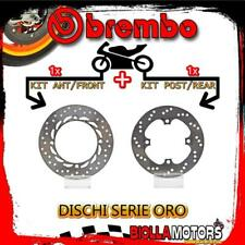 BRDISC-1021 KIT DISCHI FRENO BREMBO HONDA XR L 1996- 650CC [ANTERIORE+POSTERIORE
