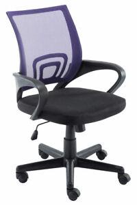 #R37323_B/0903 Bürostuhl Genius lila Schreibtischstuhl Computerstuhl Drehstuhl