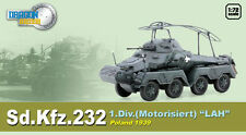 "DRAGON ARMOUR 1/72 MILITAIRE SD.KFZ.232 1.Div "" LAH "" POLOGNE 1939 Ref 60585"