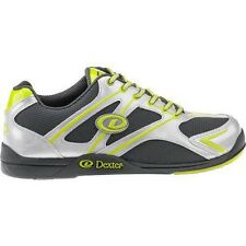 Mens Dexter PAX Bowling Shoes Color Silver/Lime Green Size 9
