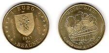 Beaune, 1 euro, 1997 - Euros temporaires des villes