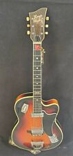 Rare Vtg 1950s Gorgeous German Hoyer Playboy Electric Archtop Guitar