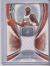 2005-06 Upper Deck Game Used Edition Darius Miles jersey Trail Blazers
