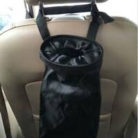Wasserdichte Tasche 210D Oxford Black Car Trash Bags Müllsack Seat Organizer