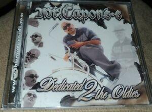 Mr Capone-E Dedicated 2 The Oldies Vol 1 CD Super Rare