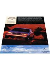 1997 Mercedes Benz C280 Sport - Vintage Advertisement Car Print Ad J406