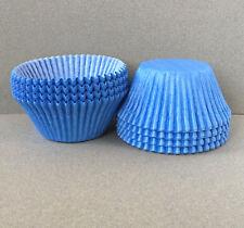 Jumbo Light Blue Cupcake Liners, Jumbo Blue Cupcake Wrappers, Jumbo Baking Cup