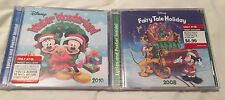 Disney Winter Wonderland CD, 2010 & Fairy Tale Holiday CD, 2008 NEW SEALED
