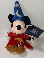 Sorcerer Mickey Mouse Fantasia 2000 Disney Store Vintage Bean Bag Plush Stuffed