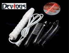 violet Ray wand Red neon electro massage electric shock machine NEW+ FREE GIFT