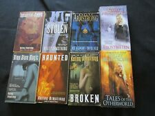 Lot of 8 Kelley Armstrong Fantasy books  Otherworld Series Frostbitten Haunted