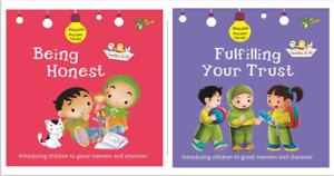 Akhlaaq Building Series)- NEW  Islamic, Muslim Fun Book For Kids