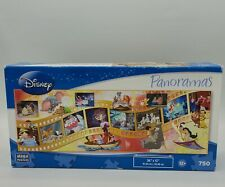 Disney Panoramas Puzzle 750 Pieces Movie Moments Dumbo Bambi and More 36x12 New