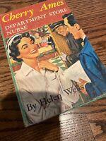 Cherry Ames #18 Department Store Nurse, by Helen Wells, 1st Ed. DJ, 1956