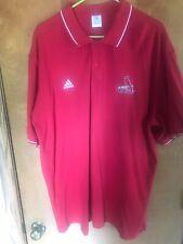 Adidas mens St Louis Cardinals polo  red 2XL