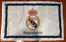 REAL MADRID C.F. La Liga Soccer 3'x5' Feet Soccer Team FLAG Banner Futbol White
