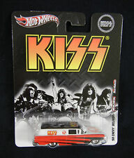 KISS 1959 Chevy Delivery Van : Gene Simmons on Roof : 1:64 Scale, Diecast