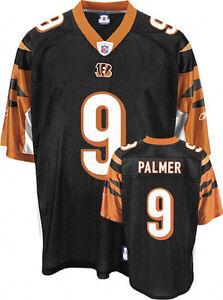 NFL Jersey Cincinnati Bengals Carson Palmer 9 Black Football premier